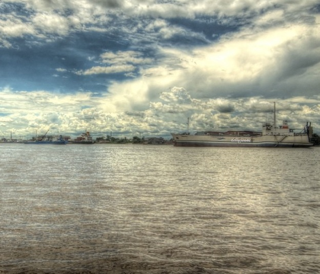 Pelabuhan fery pontianak