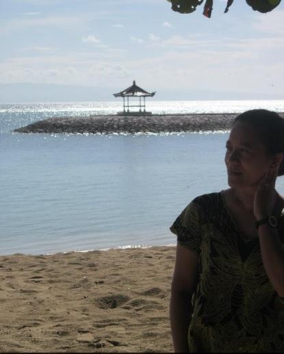 selfie di Sanur Bali1