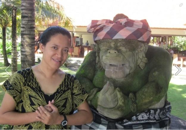 selfie di Sanur Bali2