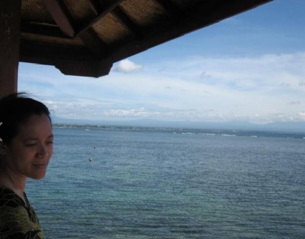 Selfie di Sanur Bali5