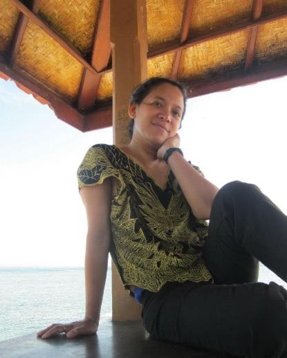 selfie di Sanur Bali7