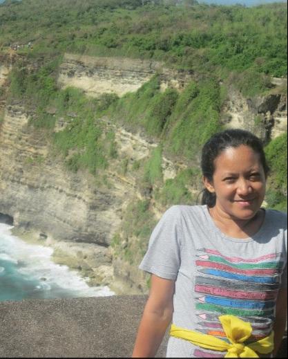selfie di Uluwatu Bali2