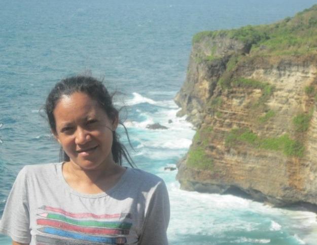 selfie di Uluwatu Bali3
