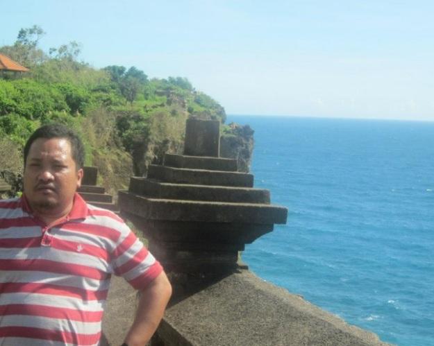 selfie di Uluwatu Bali6