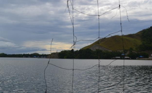 Jaring Di Danau Sentani