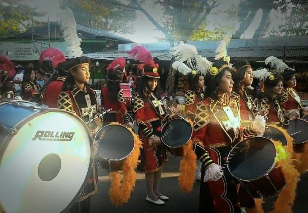 Pawai Pembangunan Atraksi Drum band3