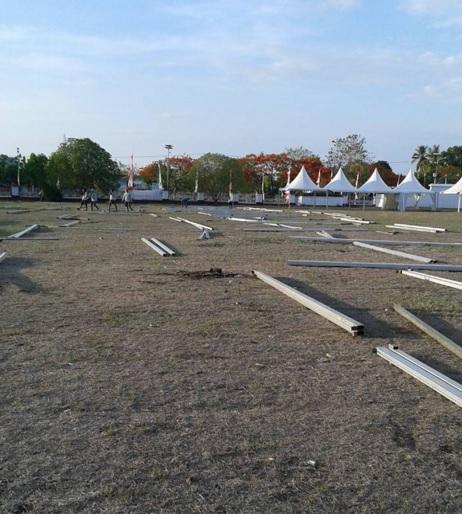 behind the scene Hari Kesetiakawanan Sosial Nasional 14