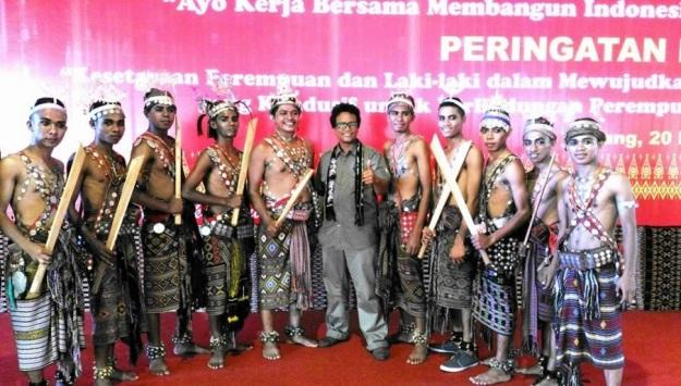 behind the scene Hari Kesetiakawanan Sosial Nasional 20