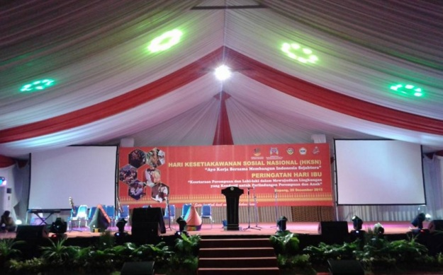 behind the scene Hari Kesetiakawanan Sosial Nasional