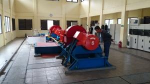 Mesin PLTMH Unit 4 5