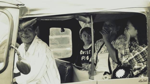 perilaku penumpang bajaj