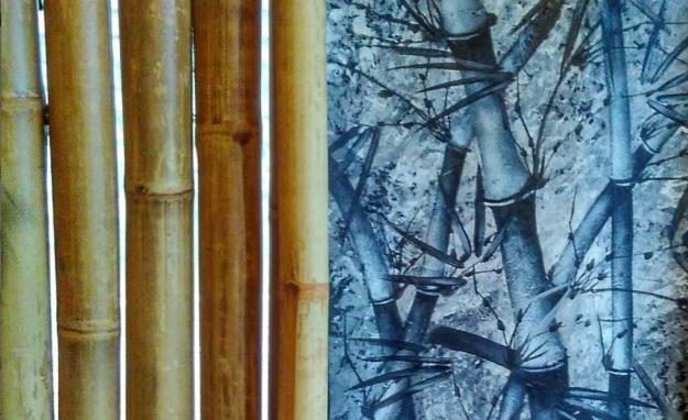 sebuah lukisan bambu1