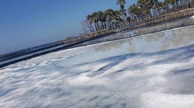 pabrik garam di Pulau Sabu