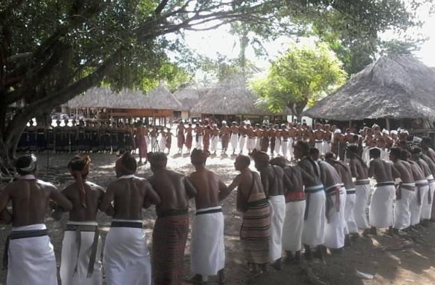 acara adat di Malaka 1