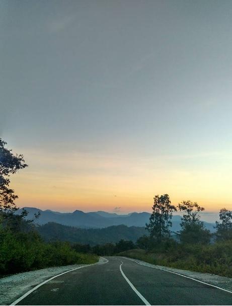 Road To Amfoang Through Nuknasi