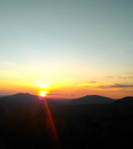 sunset at Nuknasi