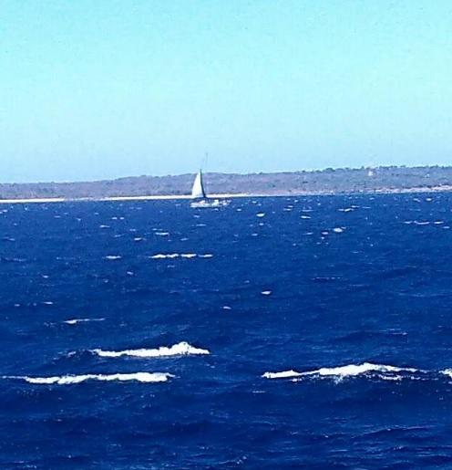 pemandangan dengan kapal cepat Rote Kupang6
