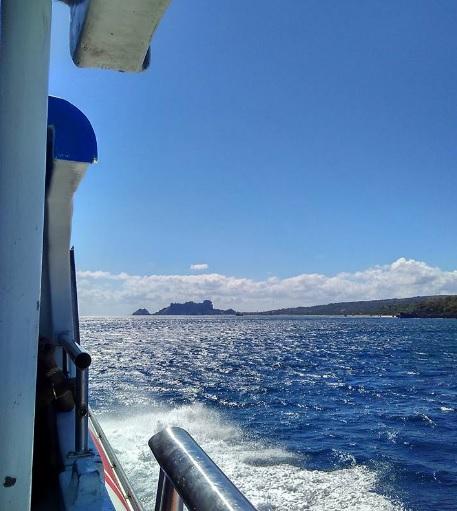 pemandangan dengan kapal cepat Rote Kupang7