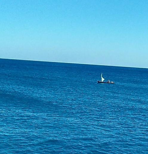 pemandangan dengan kapal cepat Rote Kupang8
