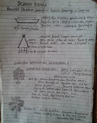 sejarah Kabola Alor