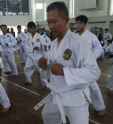 Latihan Karate di kupang 1