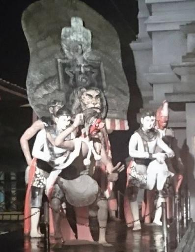 Patung selamat datang di Ponorogo