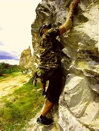 pemanjat Tebing 2