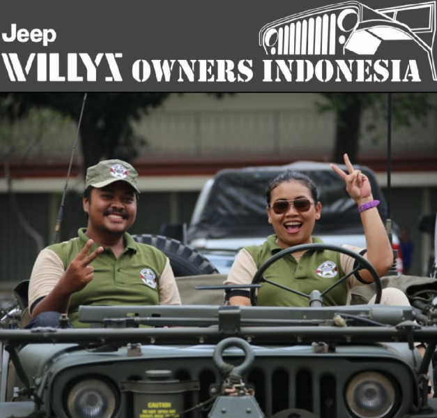 Super Woman Jeep Willys Indonesia 4