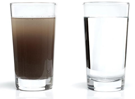air putih dan racun