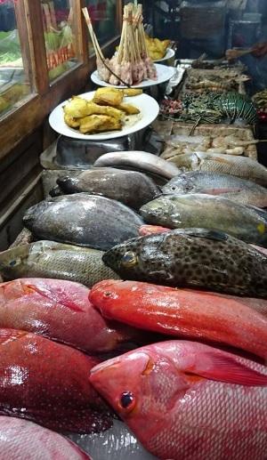 makan ikan bakar di kampung solor 2