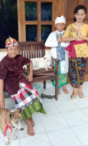 Anak dan usaha pelestarian budaya 1