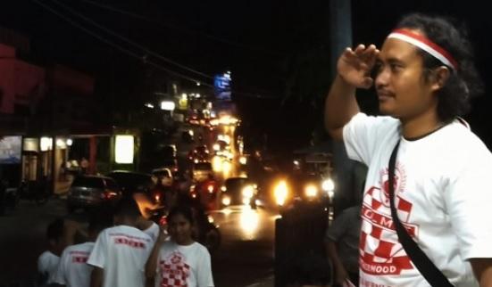 aksi sosial di jalan