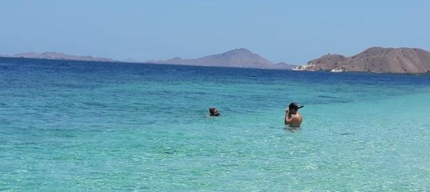 pantai pulau kelor